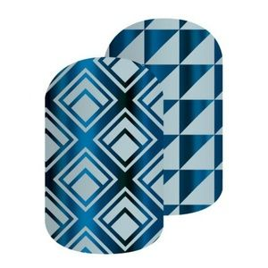 B4G1 Imperial Blue nail wrap